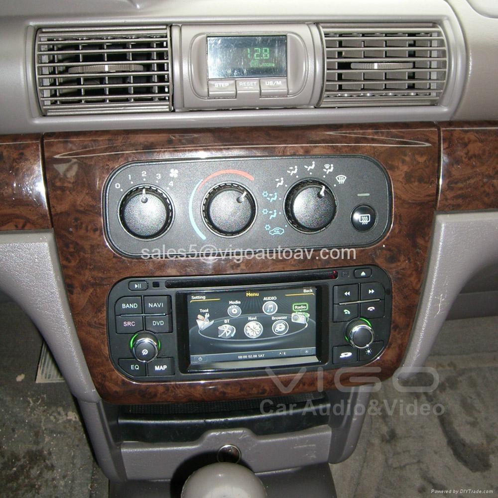 Car Stereo for Jeep Wrangler Grand Cherokee Liberty GPS Satnav DVD Multimedia 1