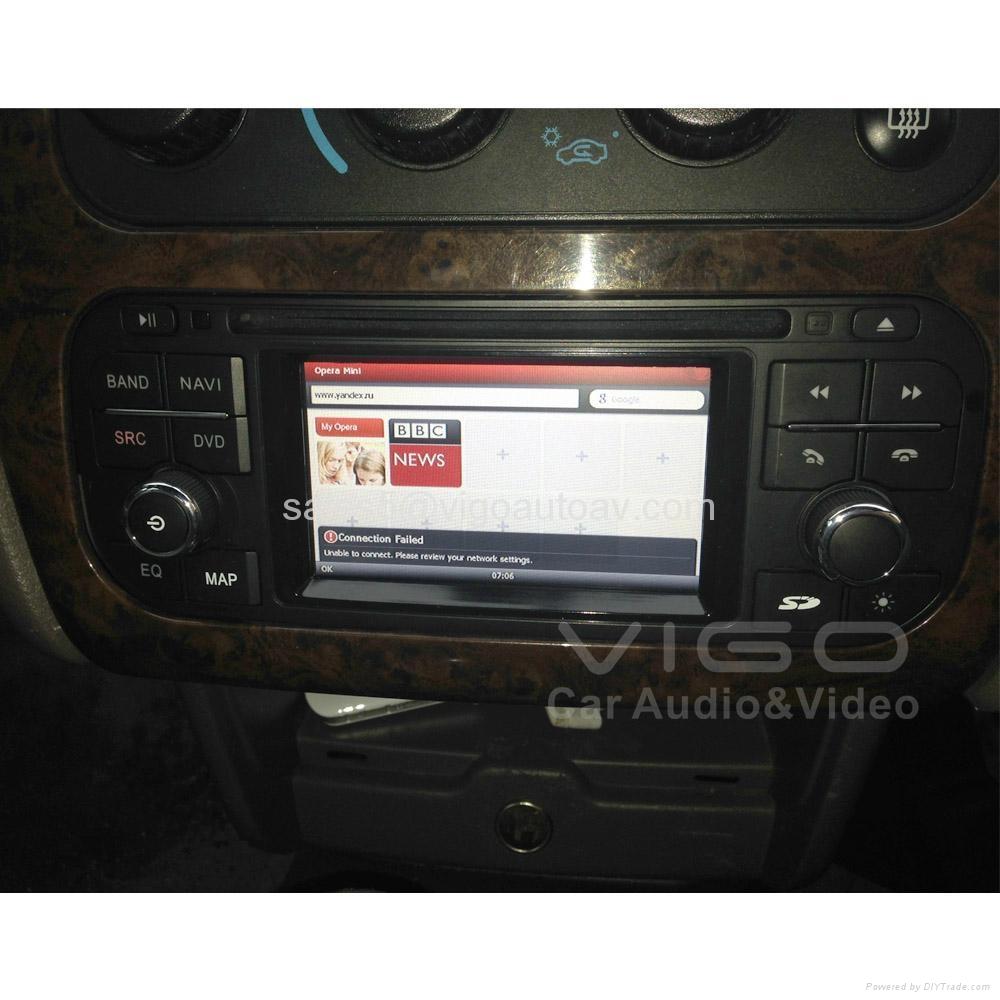 Car Stereo for Jeep Wrangler Grand Cherokee Liberty GPS Satnav DVD Multimedia 2