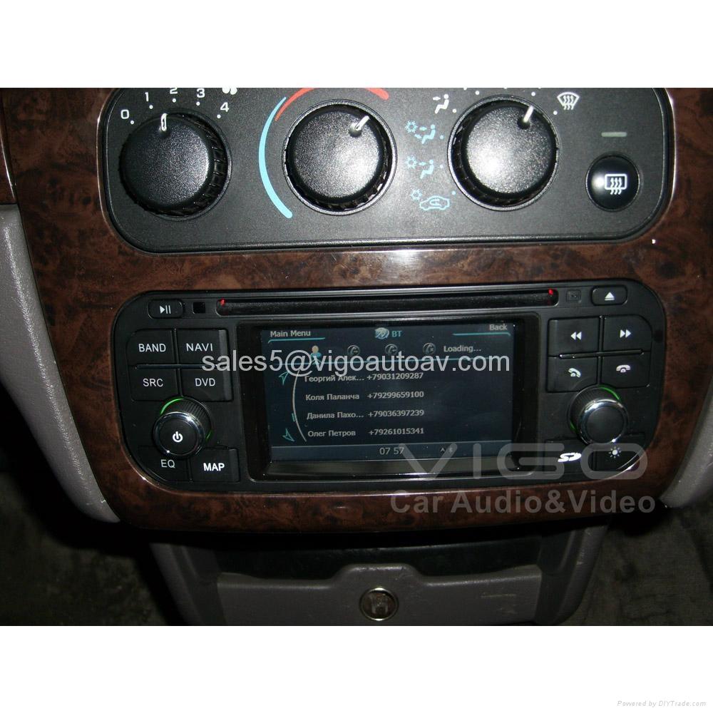 Car Stereo for Jeep Wrangler Grand Cherokee Liberty GPS Satnav DVD Multimedia 3
