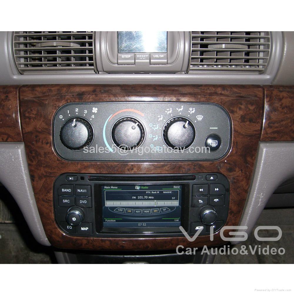 Car Stereo for Jeep Wrangler Grand Cherokee Liberty GPS Satnav DVD Multimedia 4