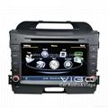 Car DVD for Kia Sportage Stereo Headunit AutoRadio GPS Navigation Satnav