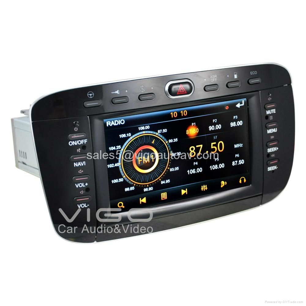 autoradio for fiat punto linea stereo gps satnav multimedia vfi6220 vigo china. Black Bedroom Furniture Sets. Home Design Ideas