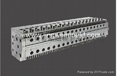 PC Hollow Corrugated Sheet Dies pc extrusion moulds