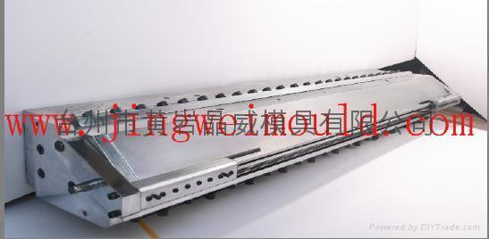 pvc imitation marble corrugated roofing sheet die 2