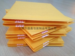 金黃色牛皮紙氣泡信封袋