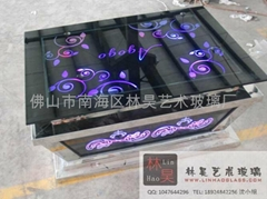 led bar table from china