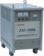 晶闸管直流弧焊机ZX5-500/630/1000K