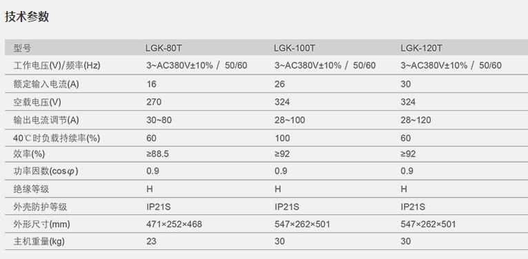 逆變空氣等離子切割機LGK-60/100T/120T 4