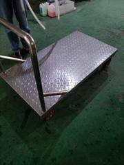 上海厂家生产不锈钢平板推车