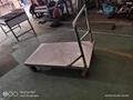 上海厂家生产不锈钢平板推车 2