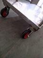 上海厂家生产不锈钢平板推车 3