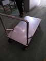上海厂家生产不锈钢平板推车 4