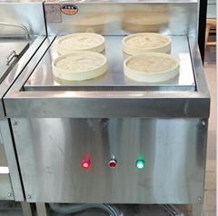上海厂家生产供应不锈钢电热四眼蒸包炉 不锈钢电热汤包炉