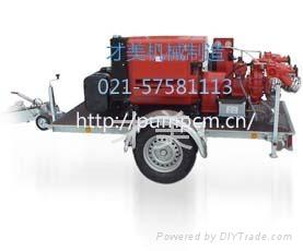 mobile fire pump - XBC/CMP - CAIMEI (China Manufacturer