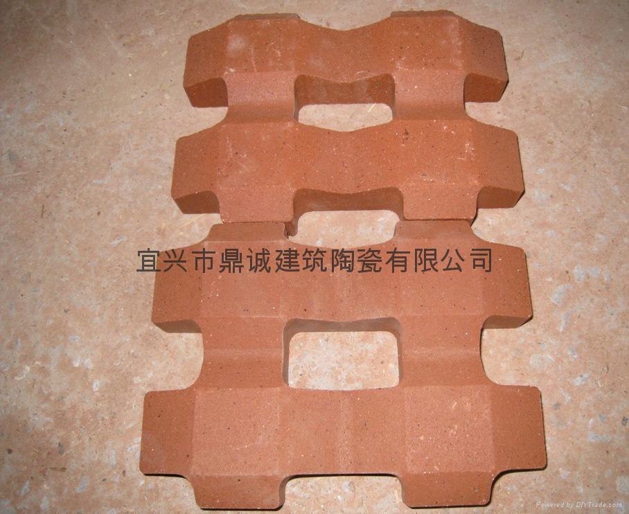 陶土植草磚 1