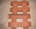 陶土植草磚