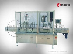 自动液体灌装/锁盖一体机
