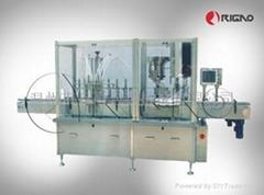 自動液體灌裝/鎖蓋一體機