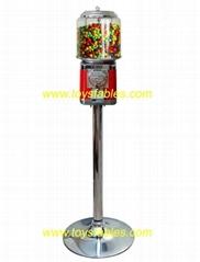 糖果自动售货机 一元投币糖果机 糖果自动贩卖机 彩虹糖机器