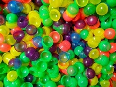 C45- 45mm diameter round colorful capsule