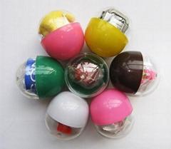 47mmx55mm 扭蛋机专用扭蛋玩具蛋壳
