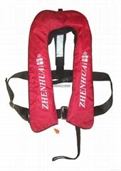 供应ZHAQY(T)ZD-Ⅰ型气胀式工作救生衣