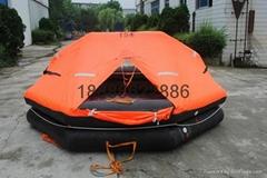 ZHR-A型拋投式船用救生筏遠洋筏CCS証書