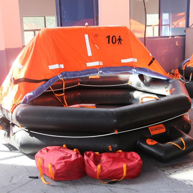 ZHR-A型抛投式船用救生筏远洋筏CCS证书 5