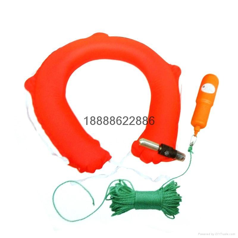 振華ZHAQQZD氣脹式水上安全圈CCS証書 3