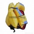 SOLAS围巾式双气室气胀救生衣ZHCQY(T)ZS型 2