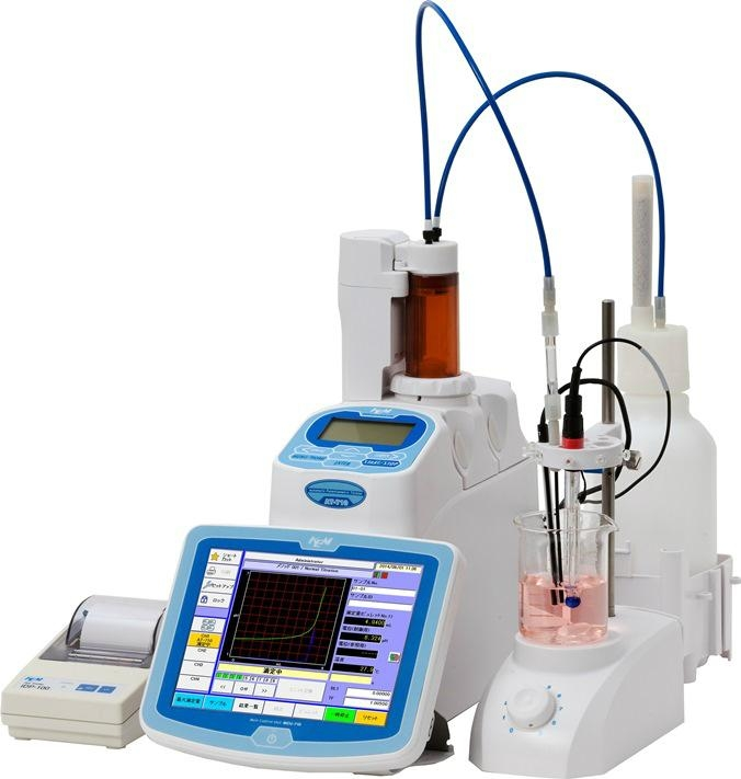 Automatic Potentiometric Titrator AT-710M