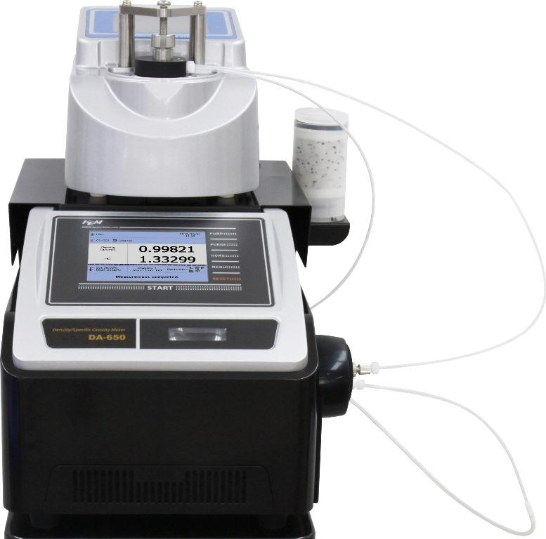Density meter and Refractometer Combined Meter DA-6XX+RA-6XX