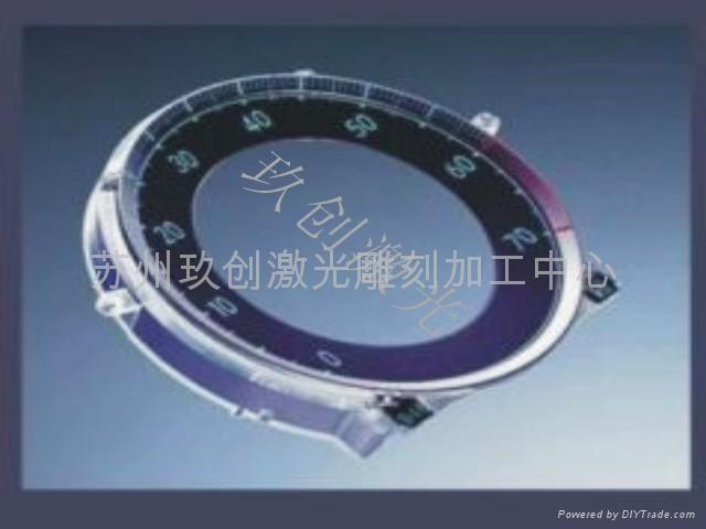 不鏽鋼零件商標型號鐳射加工 3