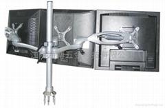 三屏液晶显示器支架