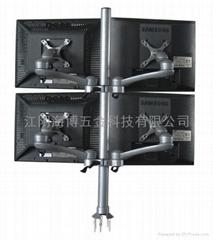 四屏液晶顯示器支架