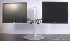 桌面雙屏液晶顯示器支架