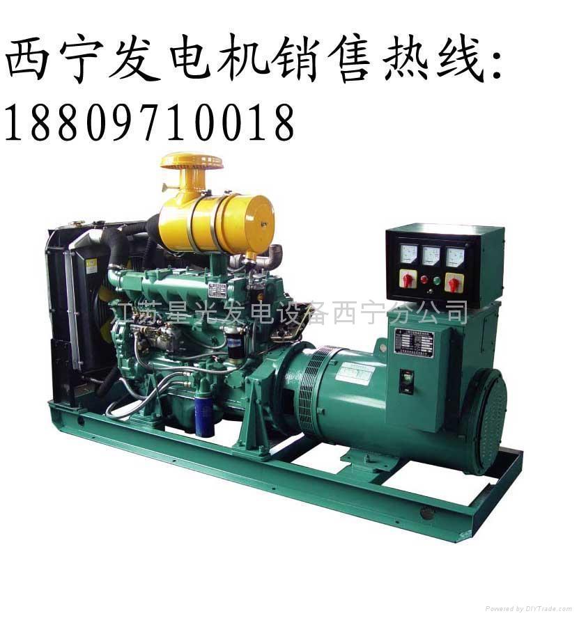 100KW里卡多柴油发电机组 1