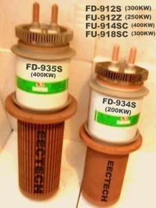 triode tube, vacuum tube, electron tube FD-934S, oscillator tube, valve 1