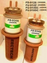 triode tube, vacuum tube, electron tube FD-934S, oscillator tube, valve