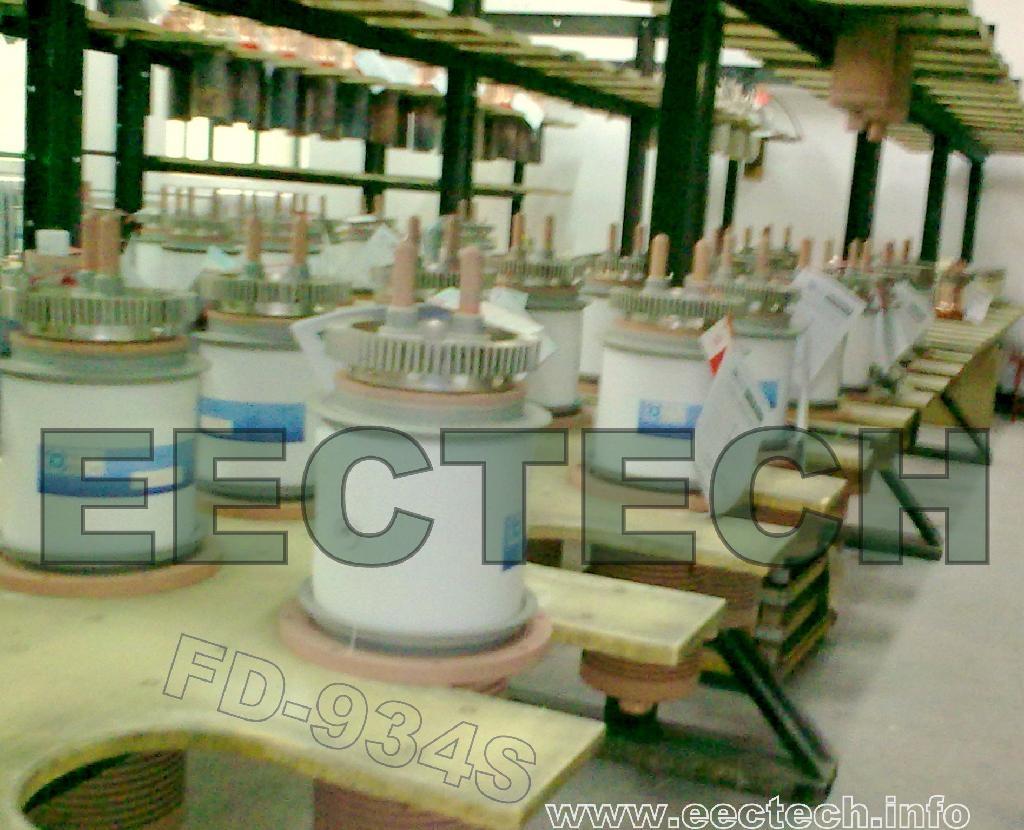 triode tube, vacuum tube, electron tube FD-934S, oscillator tube, valve 2