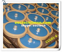 High power ceramic RF disc capacitor CCG81 plate capacitor