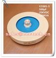 Disc/plate hf capacitor CCG81-5 RF