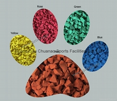 colored epdm granules used in running tracks
