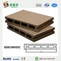 wood plastic decking wpc composite flooring 2