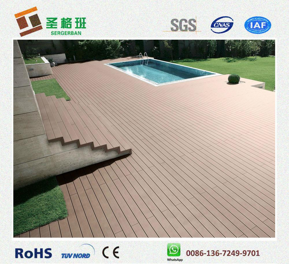 wood plastic decking wpc composite flooring 4