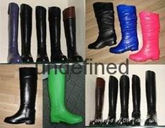各种各样PVC塘塑鞋