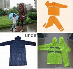 Raincoat  PVC raincoat  Nylon raincoat