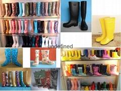 PVC rain boots  Rain boots  Transparent boots  PVC boot