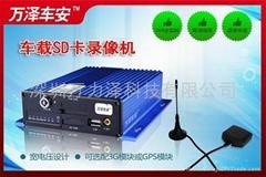 4G+GPS卡式存储车载录像机