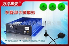 SD卡式存儲車載錄像機